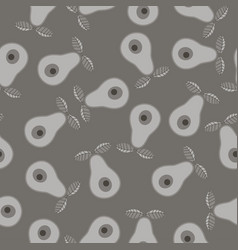 seamless abstract natural 2-colors grey vector image