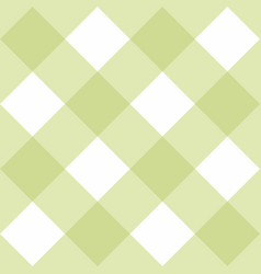 seamless green background - checkered pattern vector image