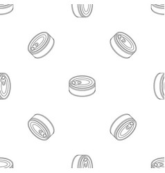 Tuna can pattern seamless vector