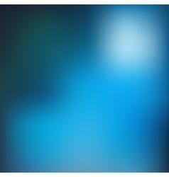 Blue blur background vector image