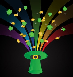 St Patricks Day Template Background vector image vector image
