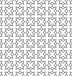 Delicate seamless flower pattern in oriental style vector image vector image