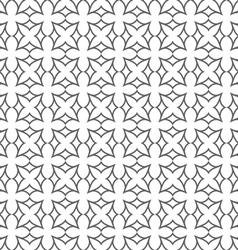 Delicate seamless flower pattern in oriental style vector