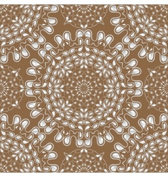 White water drops on brown background vector image vector image