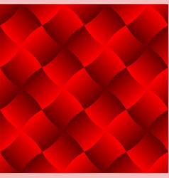 3d curve tile seamless pattern red 003 vector image