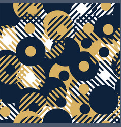 abstract background seamless pattern made vector image