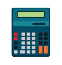 Calculator business icon design isolated button vector
