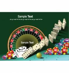 Casino background vector