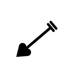 Cupid icon arrow vector