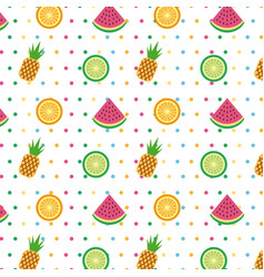 Hello summer icon set background vector