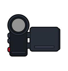 mobile videocamera icon image vector image