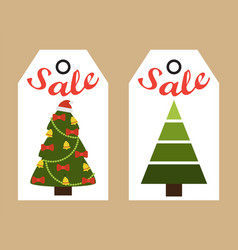 sale new year stickers on vector image