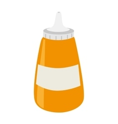 sause bottle isolated icon vector image