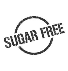Sugar free stamp vector
