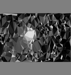 tessellating random triangles pattern background vector image