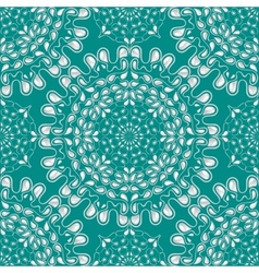 White water drops on turquoise background vector image