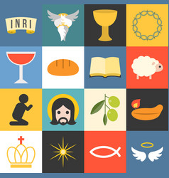 All about jesus vector