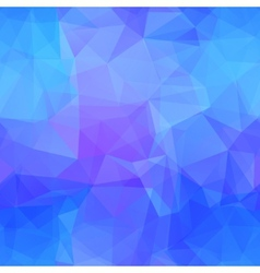 Blue seamless triangle pattern vector image vector image