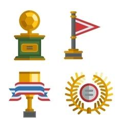 Sports awards vector image