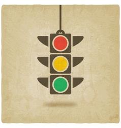 traffic light symbol vector image
