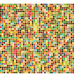 Background with colored squares vector image