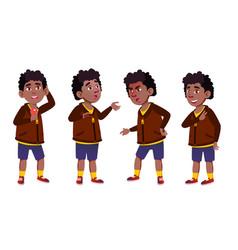 Boy schoolboy kid primary school child vector