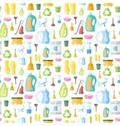 Cleaning icon seamless pattern vector