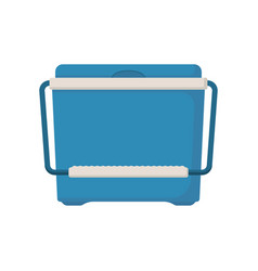 Food container ice cooler vector