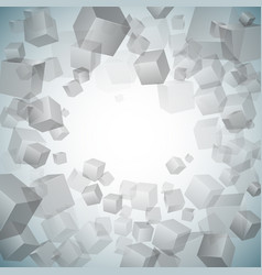 Monochrome abstract background vector