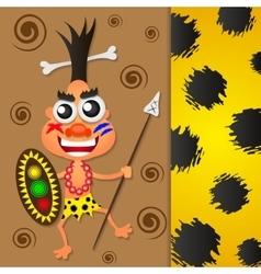 Native dancing vector