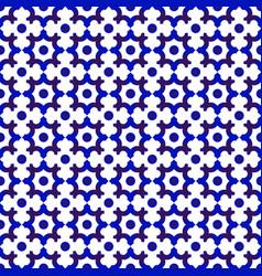 porcelain pattern seamles vector image