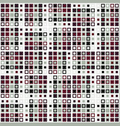 random ordered squares vector image