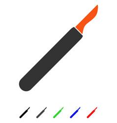 Scalpel flat icon vector