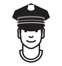 Avatar POLICEMAN1 vector image vector image