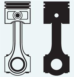 Single Engine piston vector image vector image
