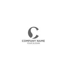 Creative comma logo design vector