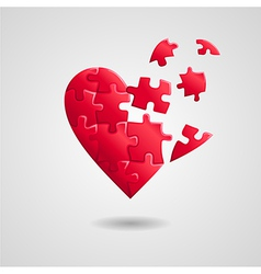 Heart broken vector