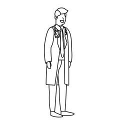 Labor day job cartoon vector