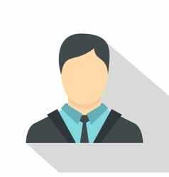 Manager icon flat style vector image