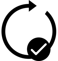 Mobile smart phone auto-rotate icon vector