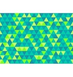 Retro triangle pattern gemtone sea vector