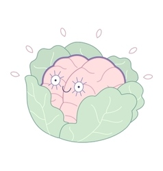 Brand new Brain collection vector image