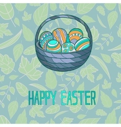 for Easter holiday vector image