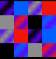 lumberjack seamless pattern vector image vector image