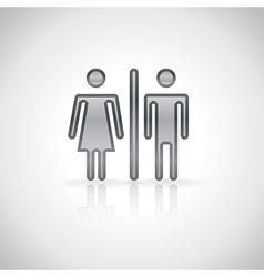 Man and woman symbol vector image