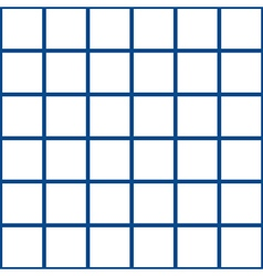 Navy blue white grid chess board background vector