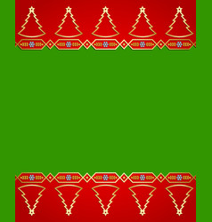 christmas background in traditional norwegian vector image