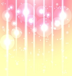 Magic lights glow abstract background vector image