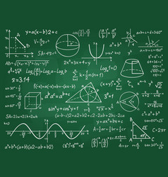 math theory mathematics calculus on class vector image