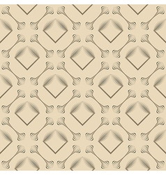 Seamless pattern stylish ornament geometric vector
